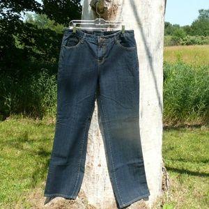Fashion Bug 5 Pocket Blue Jeans
